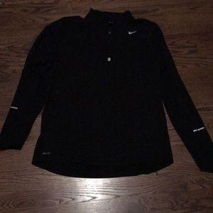 Nike Dri Fit element running half zip pullover